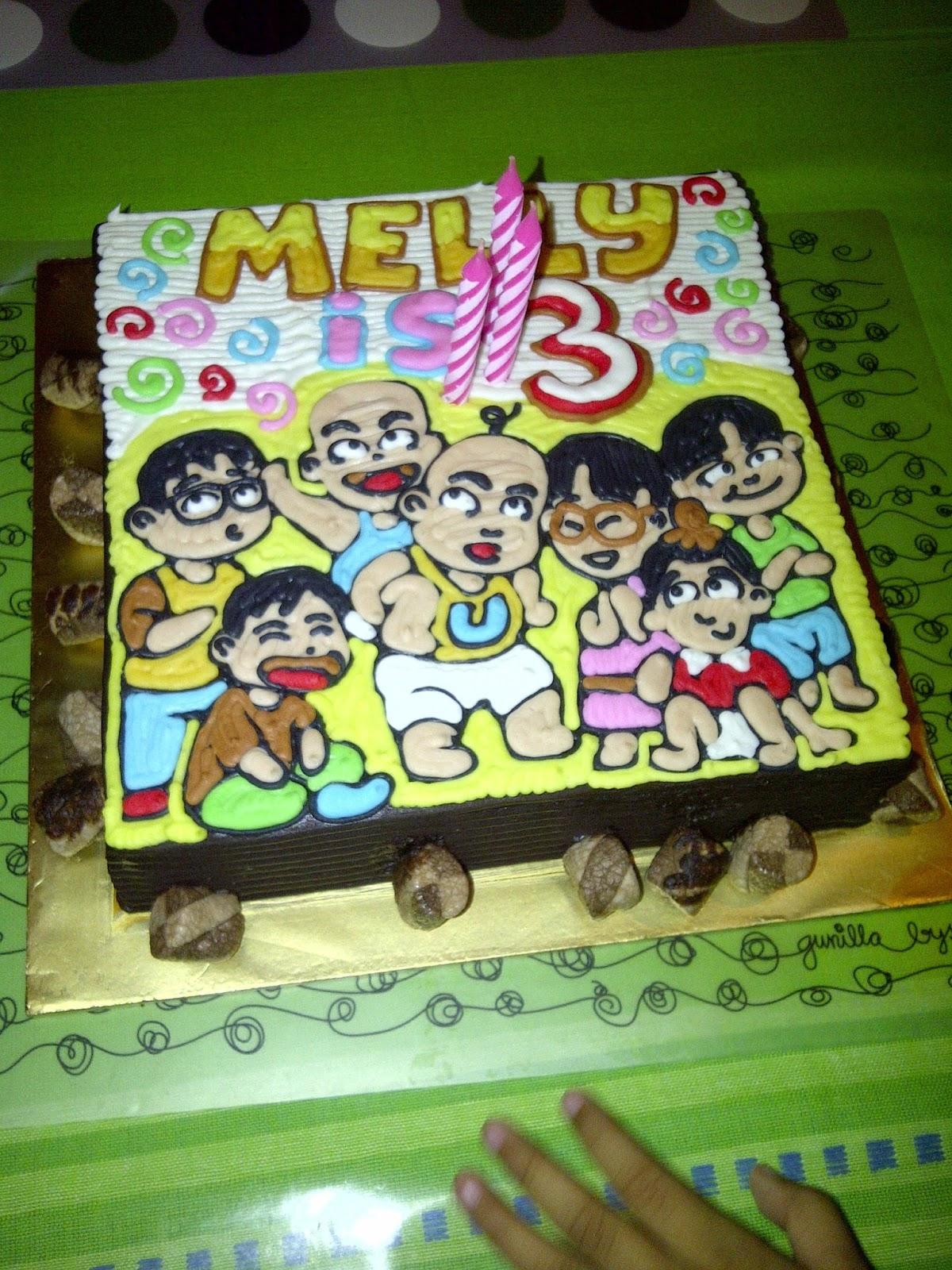 Melindas Life Journey Birthday Cake