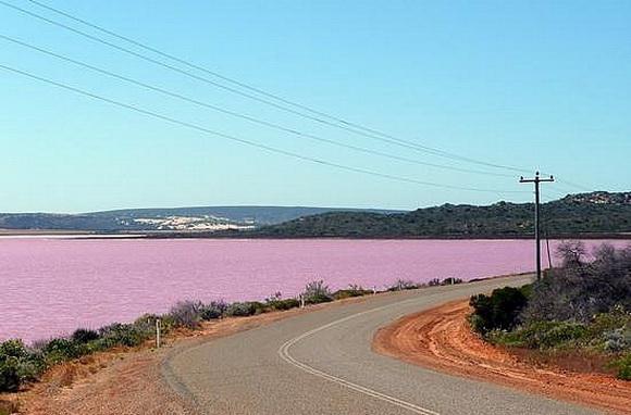 8 Danau Berwarna Pink Yang Mirip di Negeri Dongeng