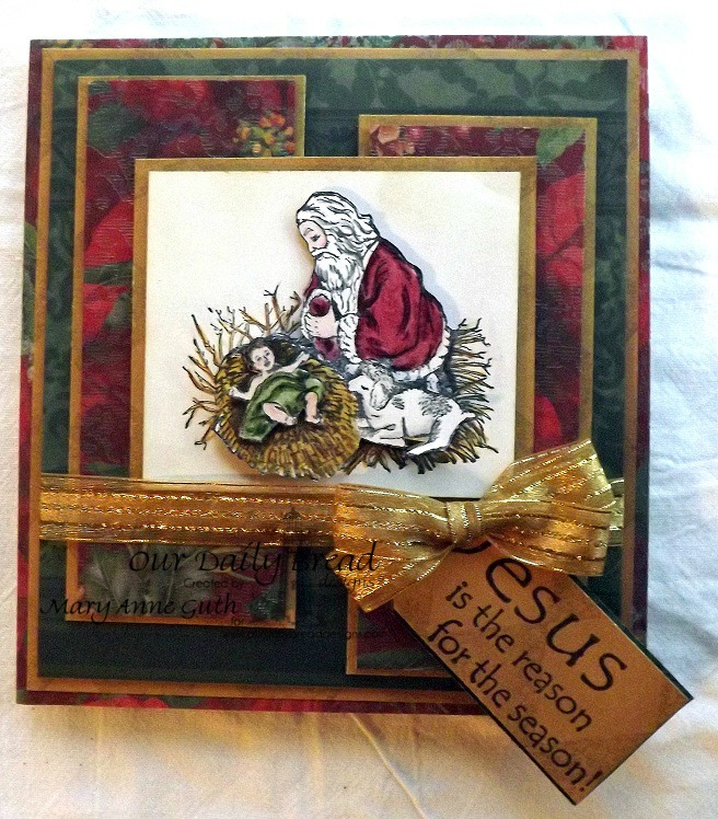 Stamps - Our Daily Bread Designs Kneeling Santa Single
