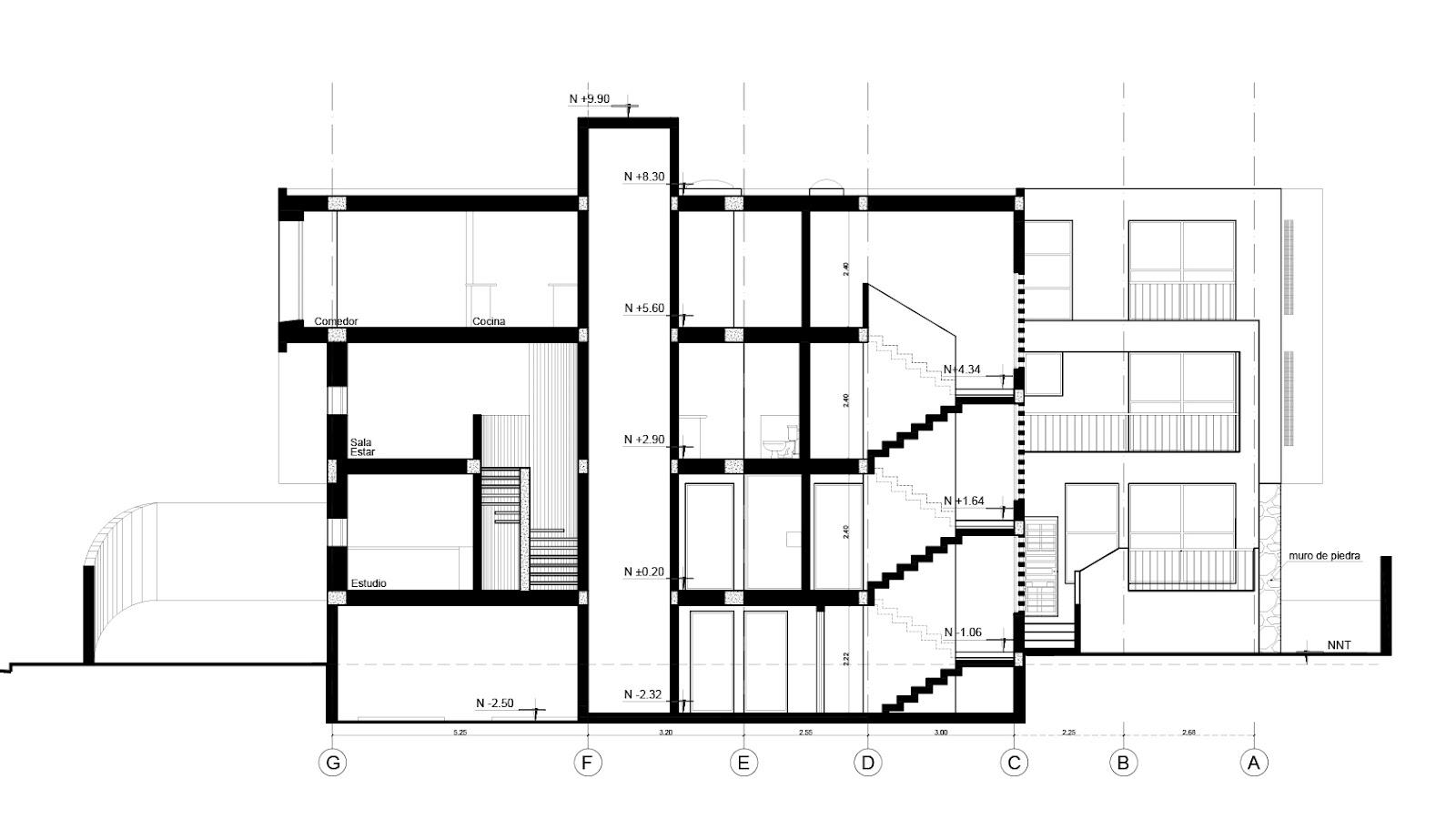 Arquitectura moderna en ecuador fausto banderas vela for Arquitectura moderna planos