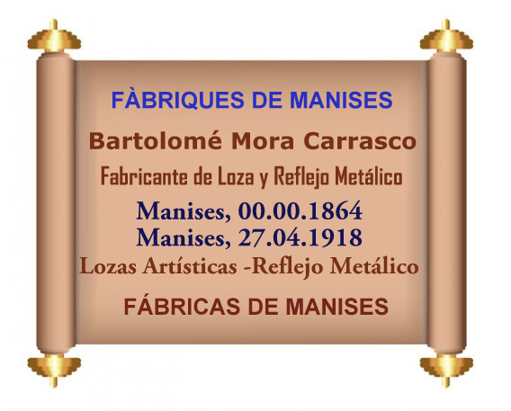 REP 02 FÁBRICA DE BARTOLOMÉ MORA CARRASCO