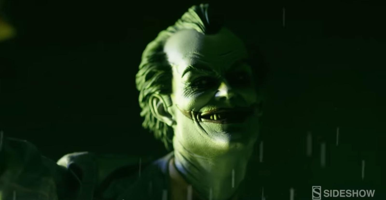 Video per il Joker Arkham Asylum della Sideshow