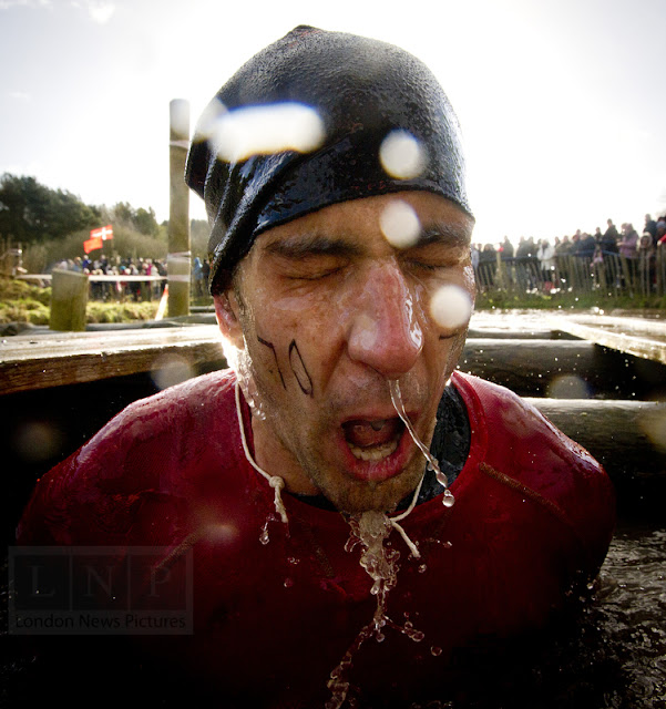 Water dips at Tough Guy