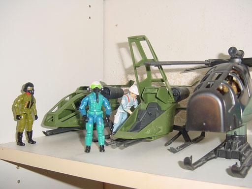 1992 Ace, Air Commandos, 1993 Ace, 1987 Hardtop, 1998 Ace, Razorblade, 1994, 1984 Skyhawk, Mail Away