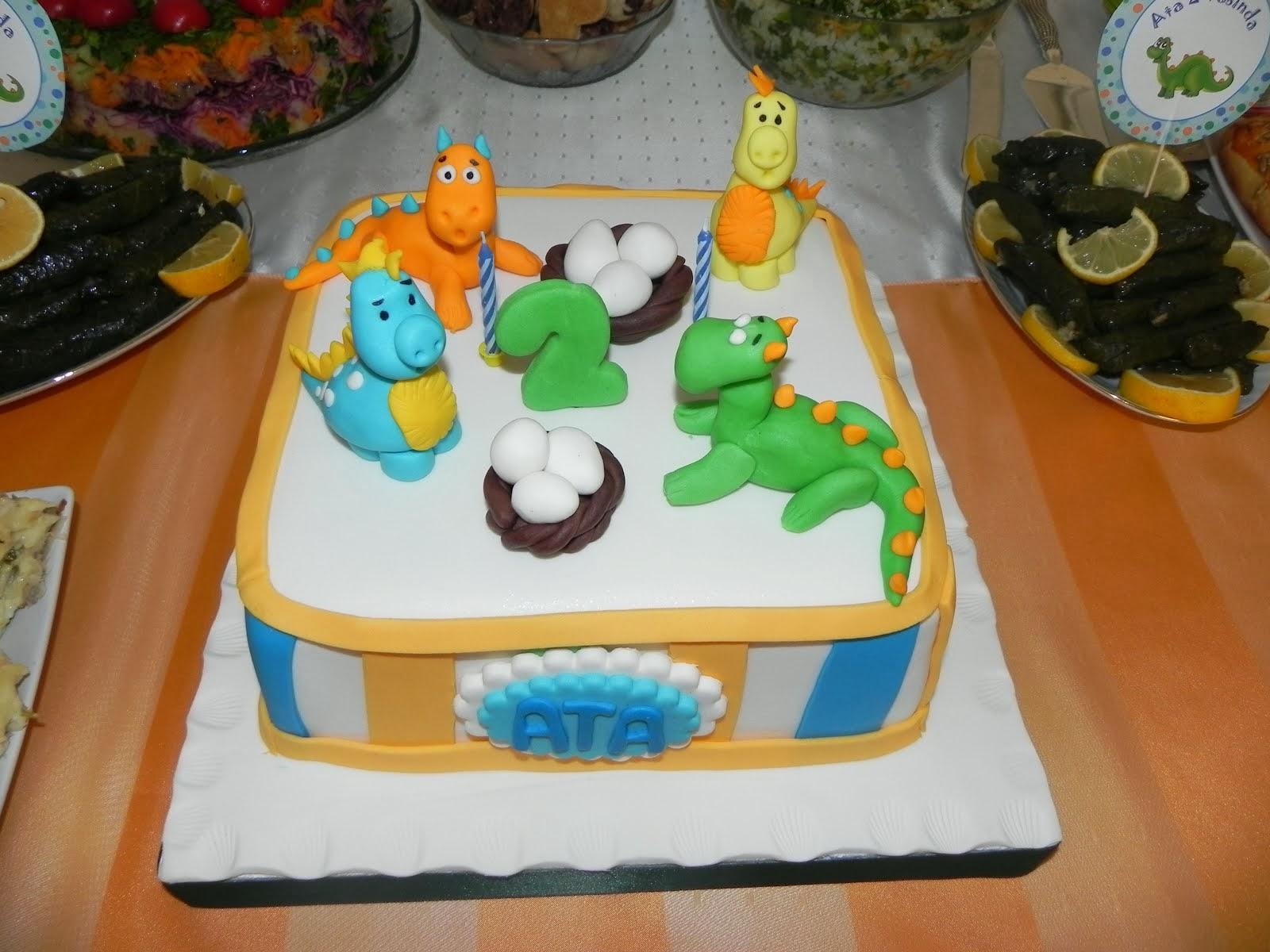 Dinozor Temalı 2.Yaş Doğum Günü