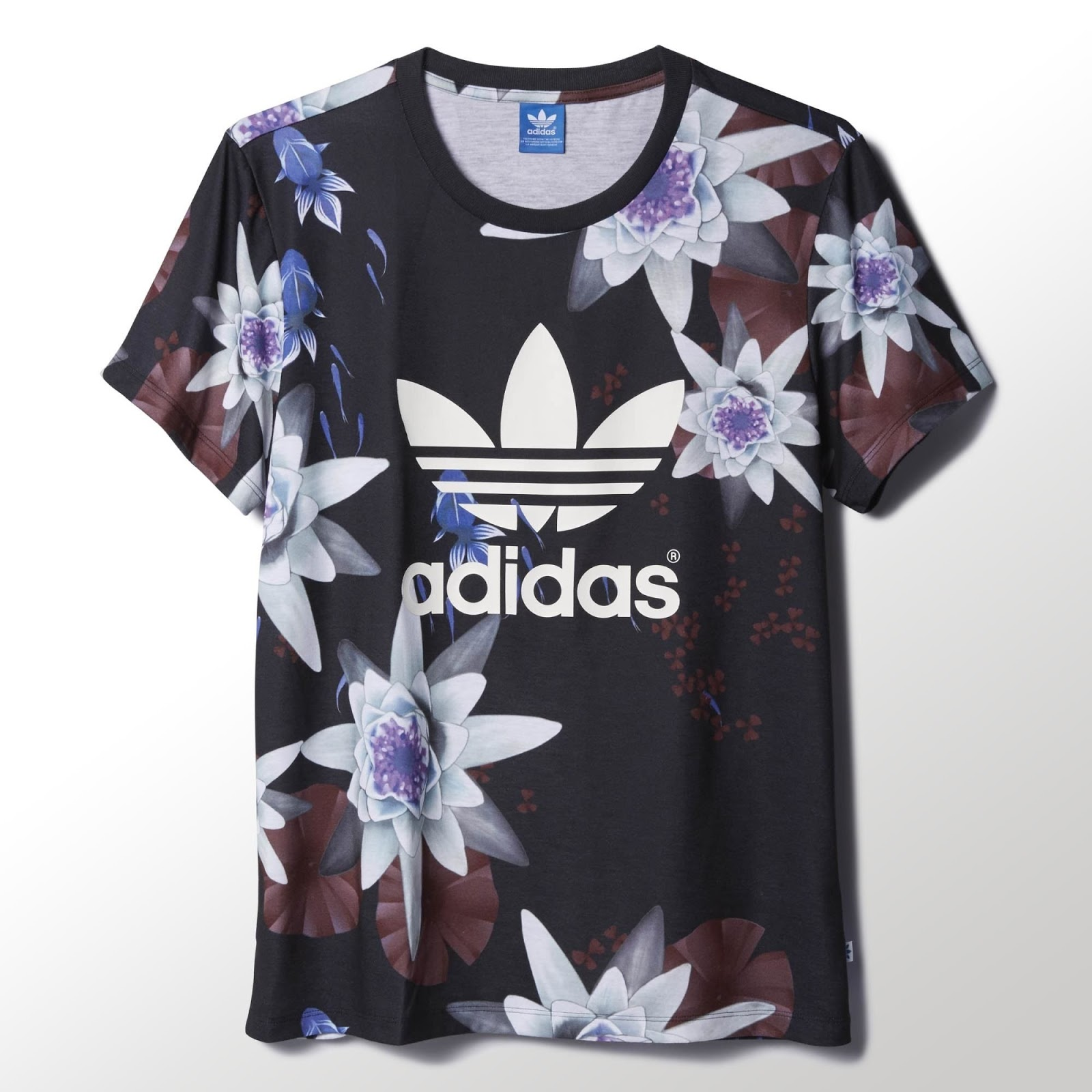 Sneakers and streetwear stuff adidas originals lotus p for Adidas lotus t shirt