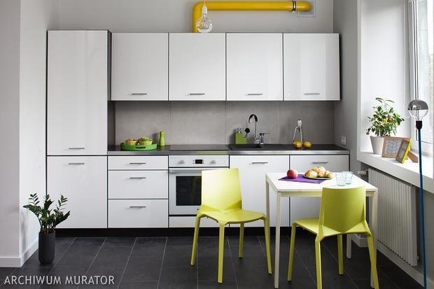 8 kuchni minimalistycznych  SPOD KANAPY