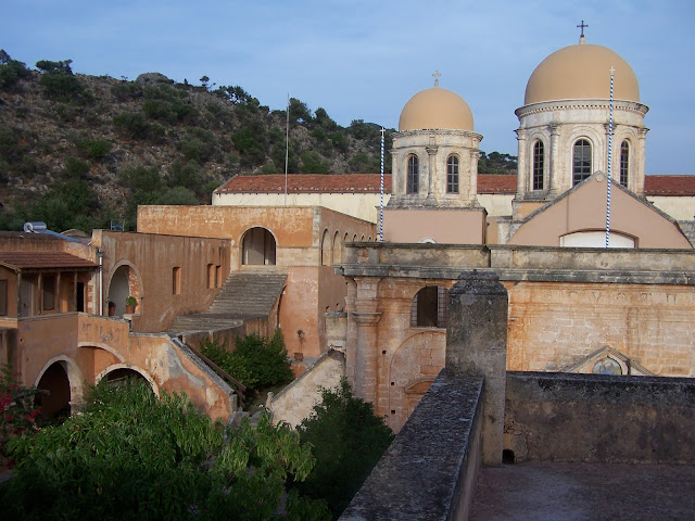 Hanya yakınlarında Aya Triada Manastırı