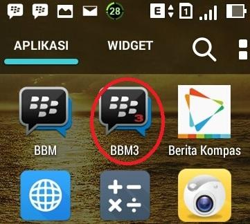 Cara Download Aplikasi Dual Bbm Android