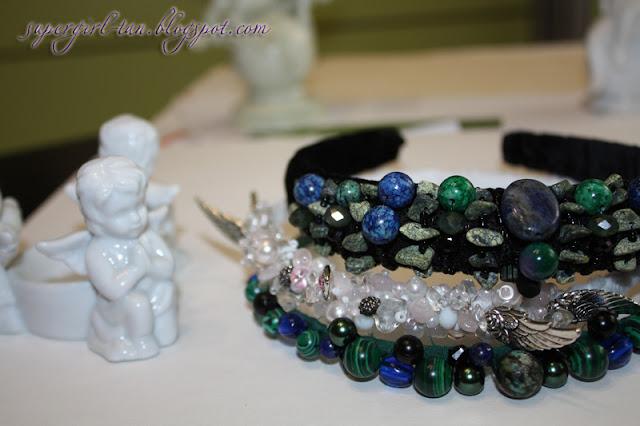 ободки с камнями