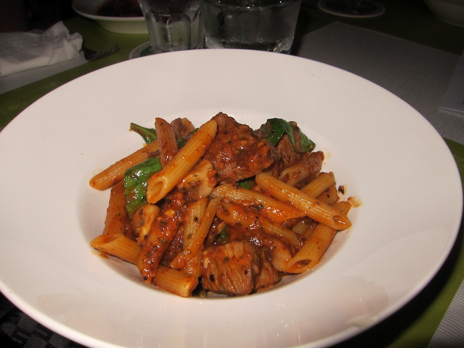 penne beef $ 24 penne sauteed with cubes of beef