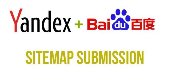 Yandex and Baidu Sitemap submission