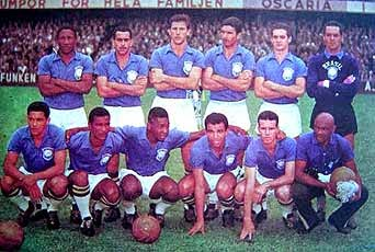 1958 Football World Cup winning Team