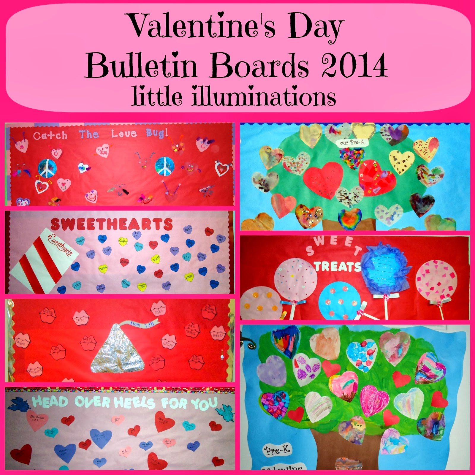 Bulletin Board Ideas 2 Year Olds: Little Illuminations: Preschool Valentine And Heart
