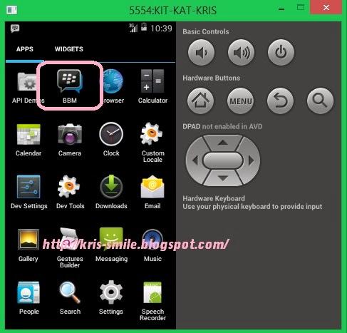 Cara Mudah Install BBM Di Komputer Laptop (Emulator Android SDK)
