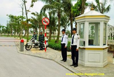 An ninh biệt thự Dương Nội
