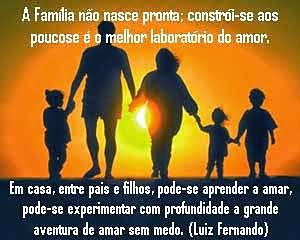 Amor, a base da família