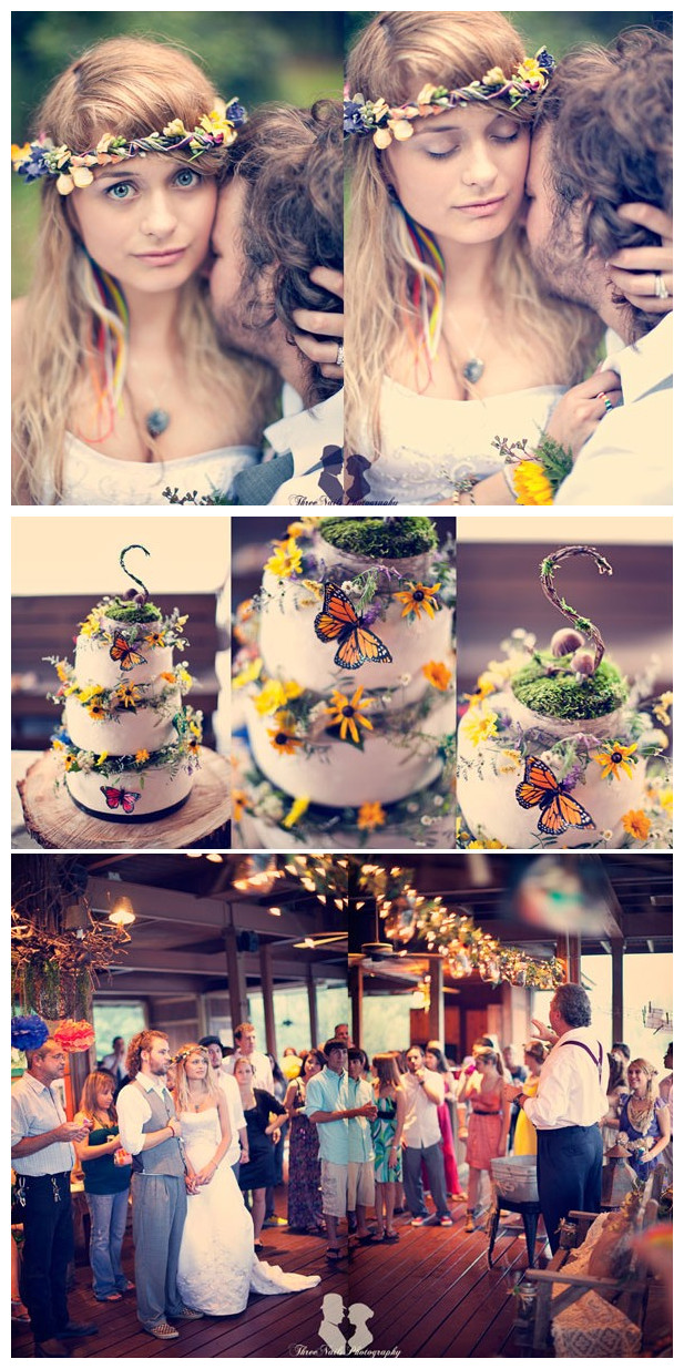 Rainbow Theme Wedding 04