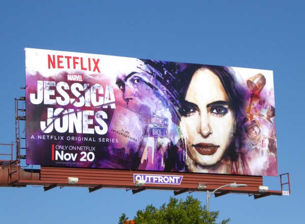 Jessica Jones series premiere billboard