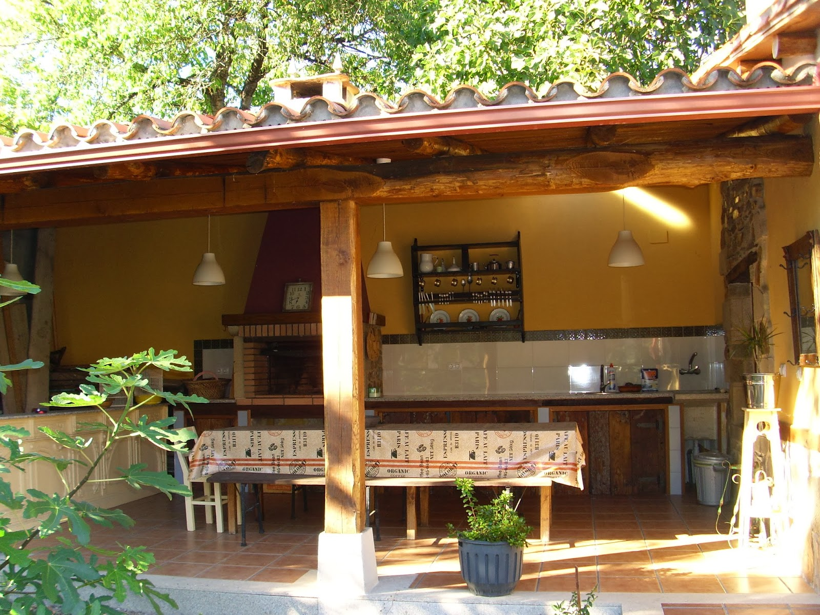 Gloria vintage porche - Porches con barbacoa ...
