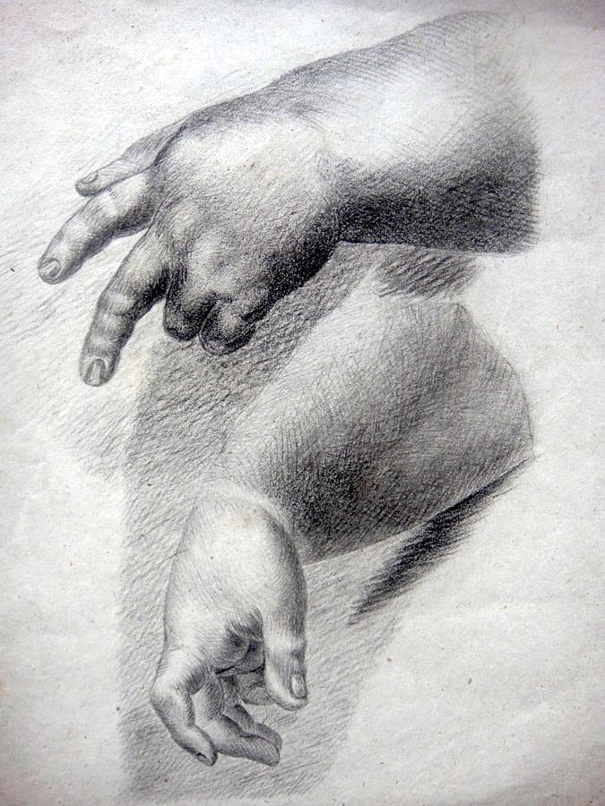 drawings hands