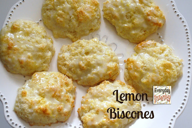 Lemon Biscones