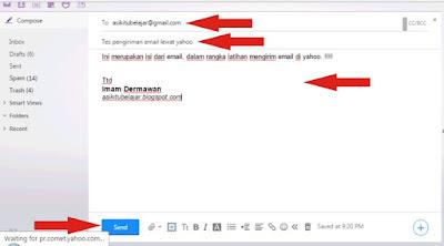 Cara Mengirim Email Dengan Mudah Di Yahoo