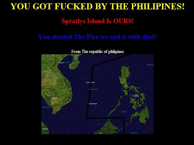 Filipino hackers fight back deface Chinese sites