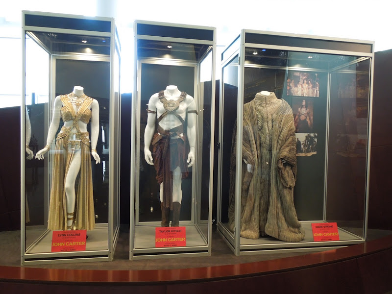 Original John Carter movie costumes