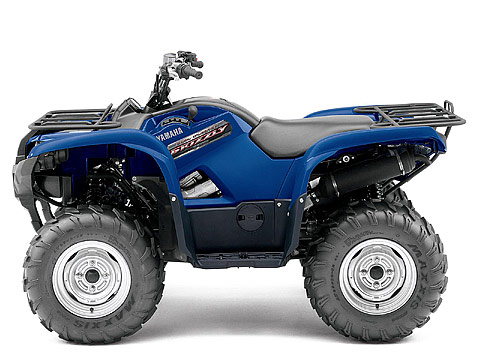 2013 Yamaha Grizzly 700 FI Auto 4x4 ATV pictures. 480x360 pixels