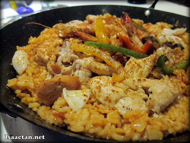 Seafood Chicken Paella - RM60
