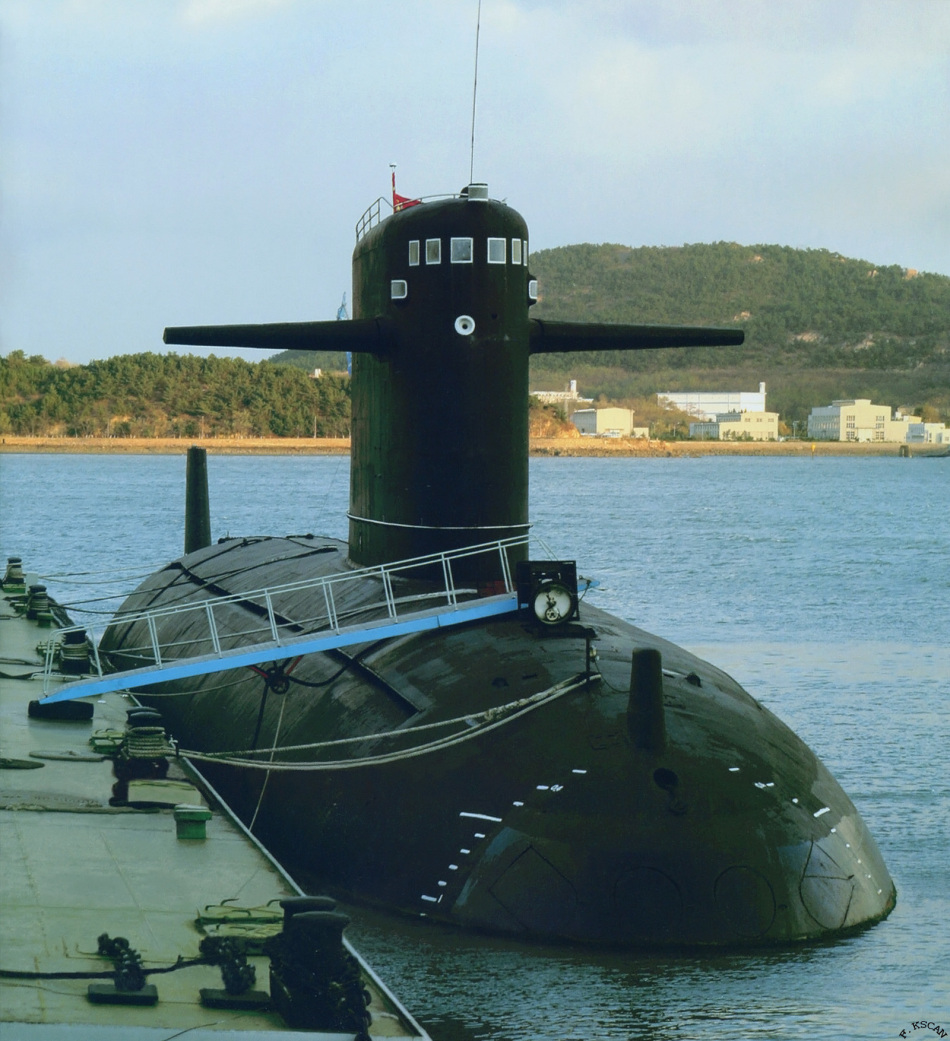 Chinese Type 091 Han Class Nuclear