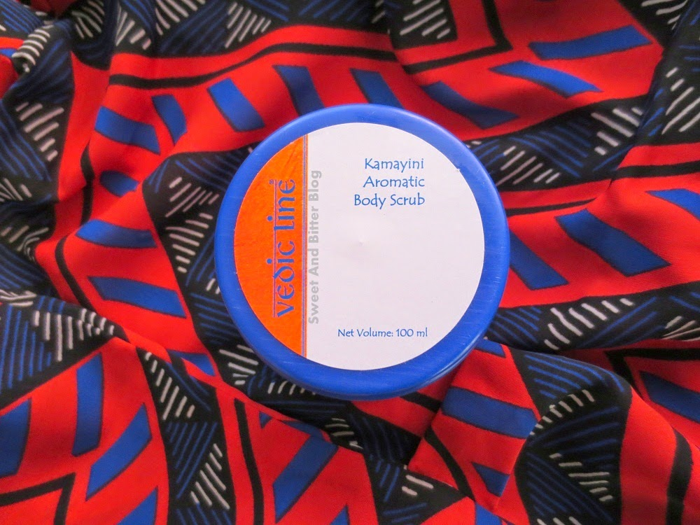 Vedic Line Kamayani Aromatic Body Scrub Review