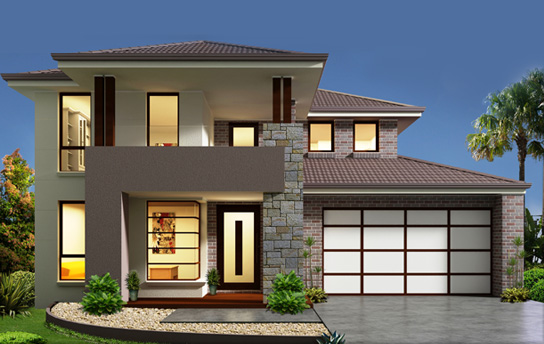 New home designs latest modern homes designs sydney for Small two floor house design