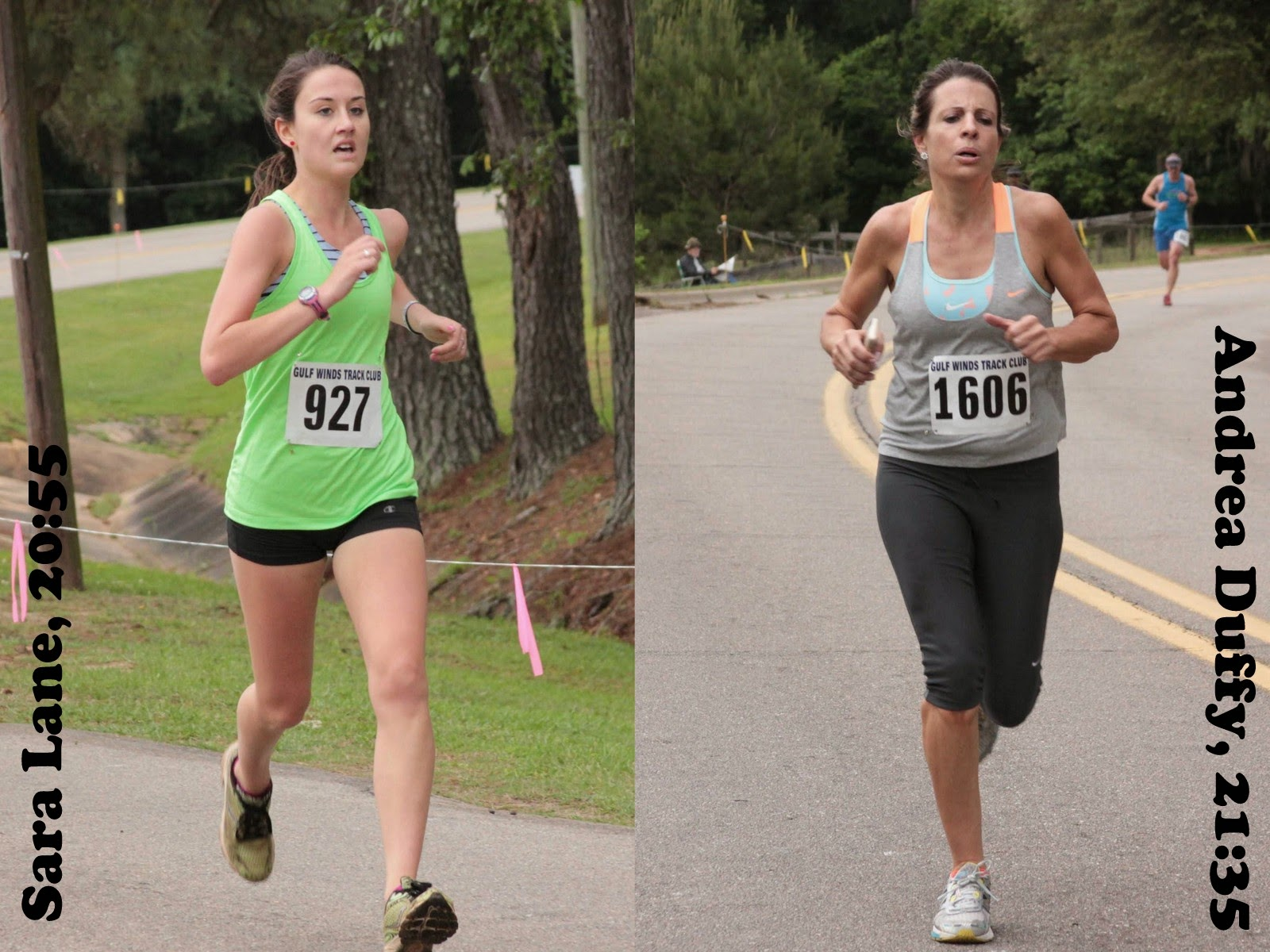 Sara Lane and Andrea Duffy