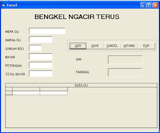 Soal UTS / UAS Visual Basic 6.0 Terbaru
