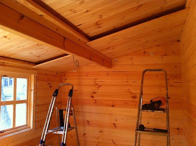 Residential Log Cabin Installation Near Llandysul