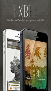 تنزيل تطبيق Exbel اكسبل لدمج الصور للايفون