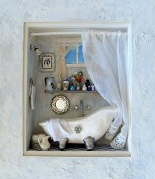 Baño Romántico con Miniaturas