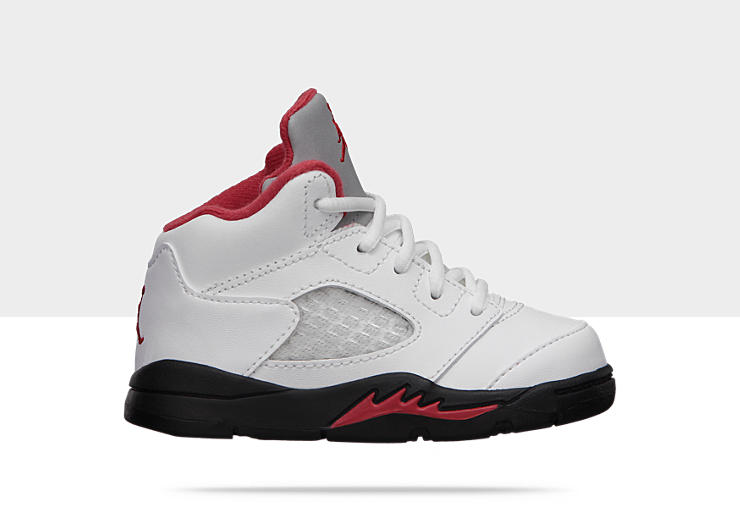 The Baby Air Jordan range of shoes are ideal to be worn by little kids. The Air Jordan brand of shoes is a subsidiary of Nike Inc. which is designed and produced in collaboration with the basketball great Michael Jordan.