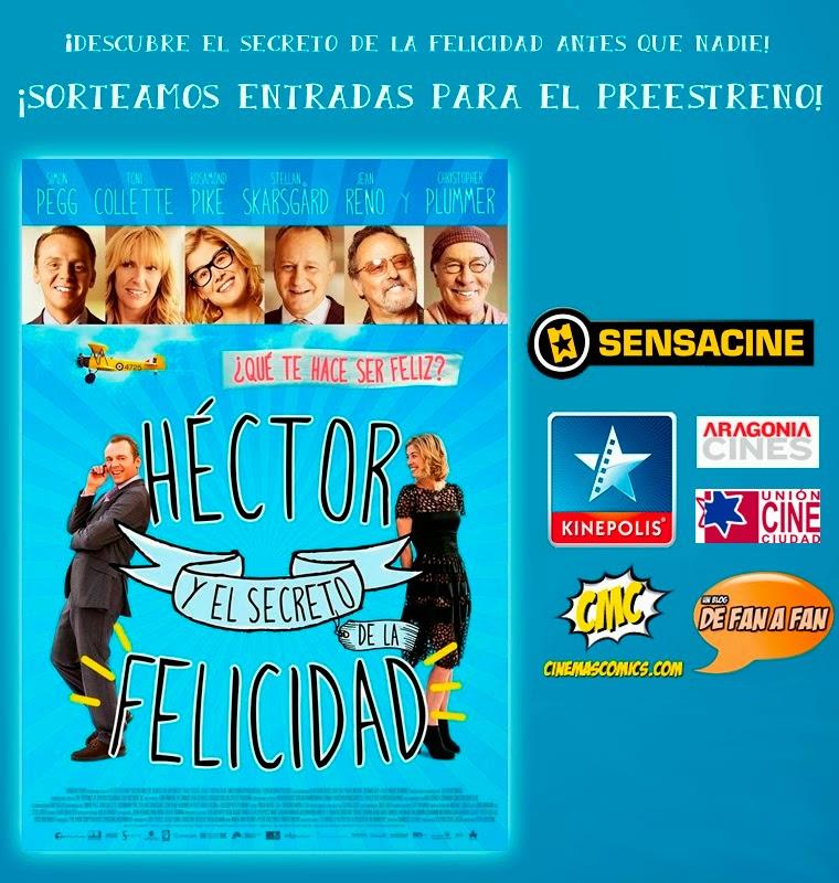"""Preestreno de """"Héctor y el secreto de la felicidad"""""""