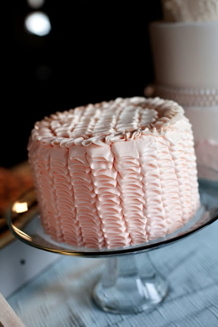 Pink Ribbon Cake in Buttercream - Twin Cities