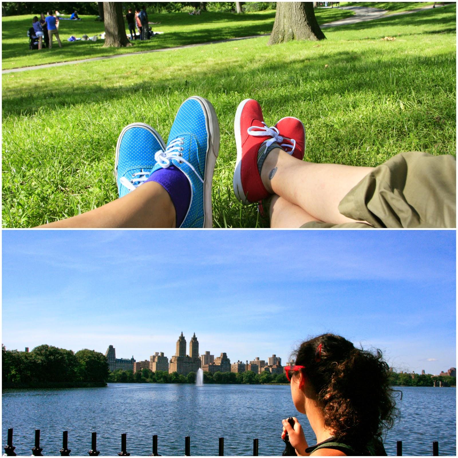 Descansant a Central Park, Nova York