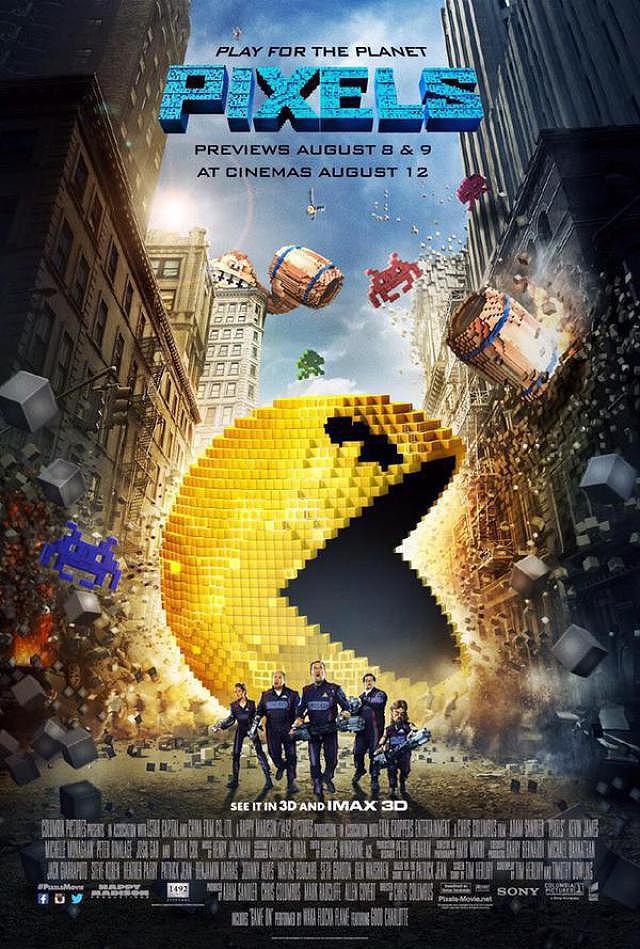 Descargar Pixels BR LiNE Castellano Comedia 2015 Mega