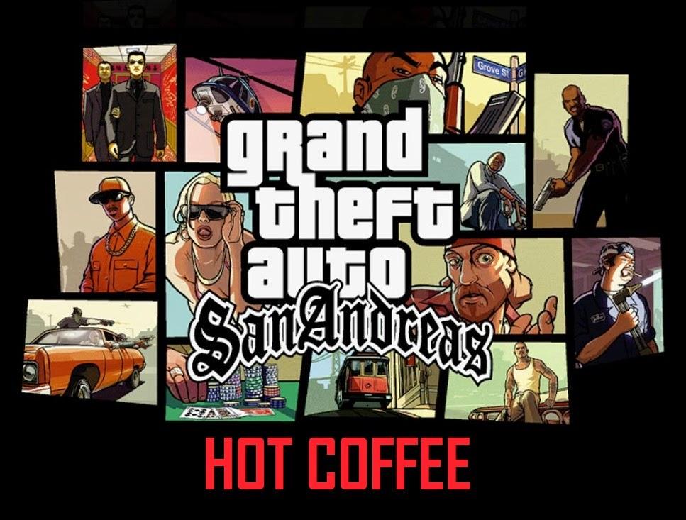 Сан андреас hot coffee
