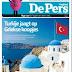 Εκκλησία της Σαντορίνης με σημαία της Τουρκίας! Προκλητική φωτογραφία από Ολλανδική εφημερίδα