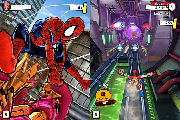 game spider man unlimited v1 3 1a terbaru 2015 apk android gratis