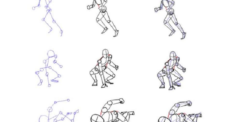 Phils Cartoon: Stick Figures on Steroids