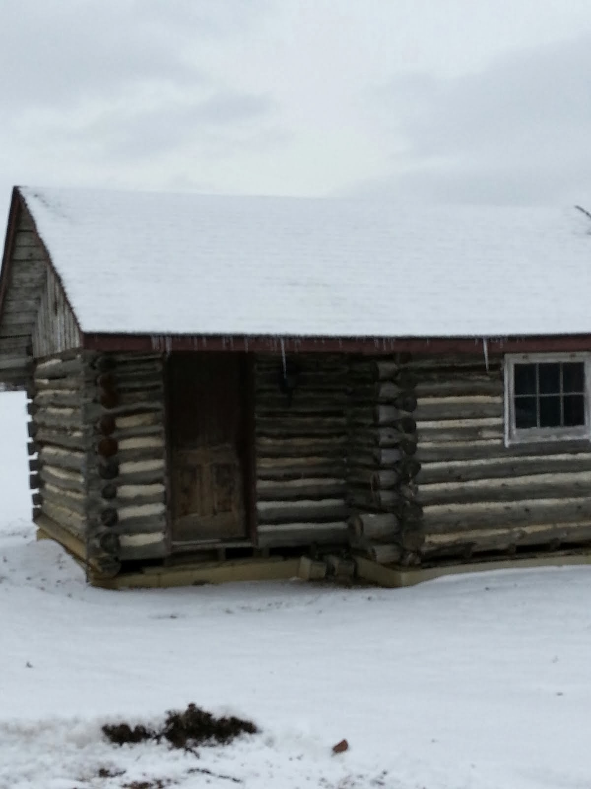 Focused On Life Photo Blog Log Cabin In Delaware County Ohio