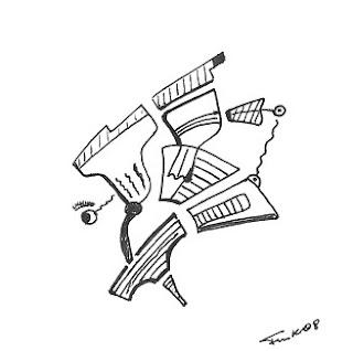 Zeichnung Bild / painting picture : rockstar